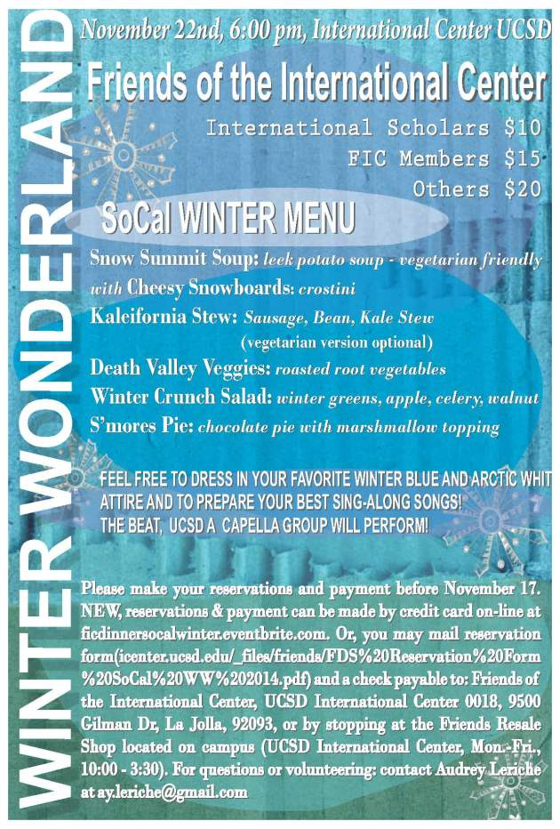 SoCal Winter Flyer 2014
