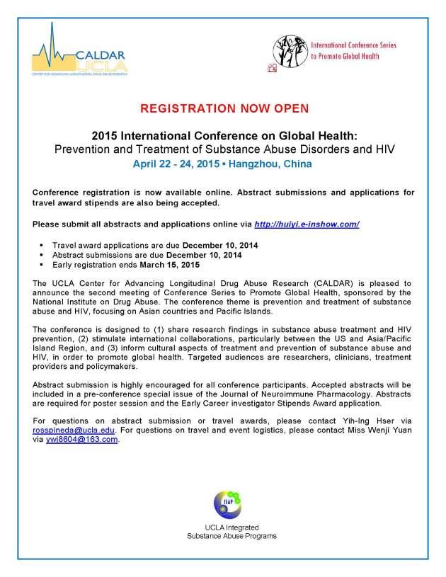 Conference Registration Announcement