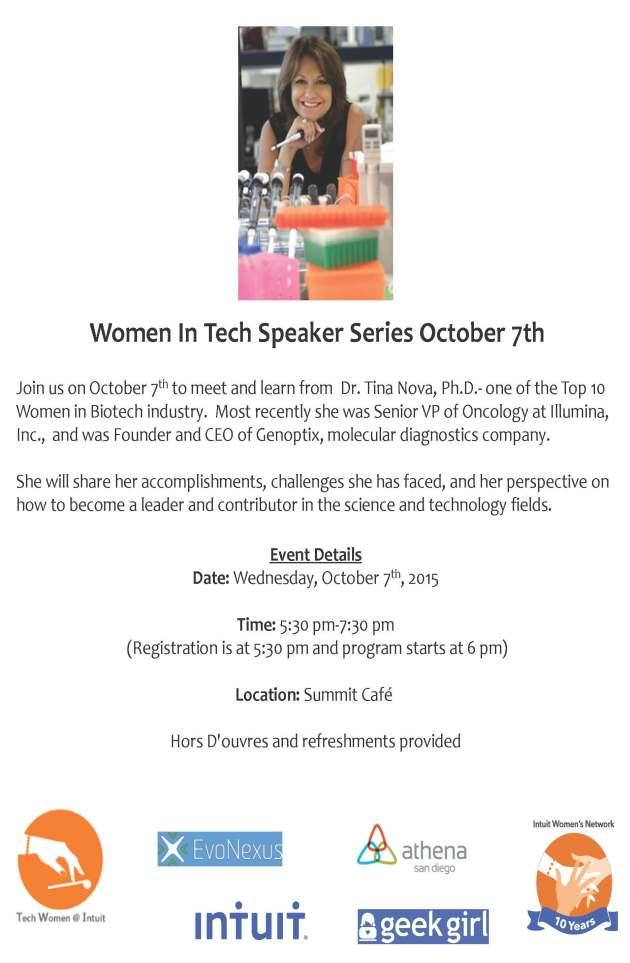 Women in Tech Speaker Series
