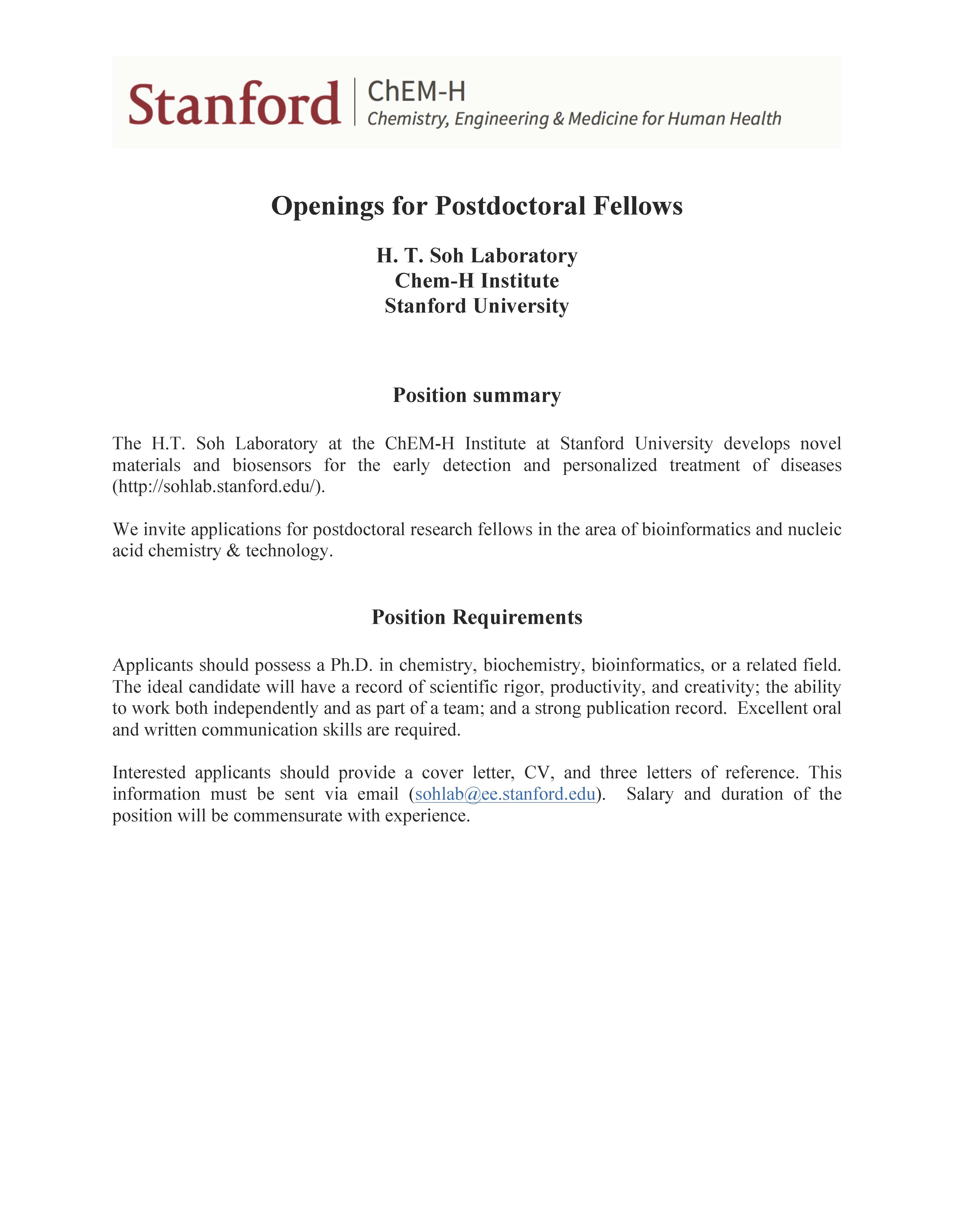 Cover Letter Biochemistry Postdoc - How to Write a Great