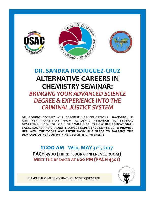 Alternative Careers Seminar Flyer