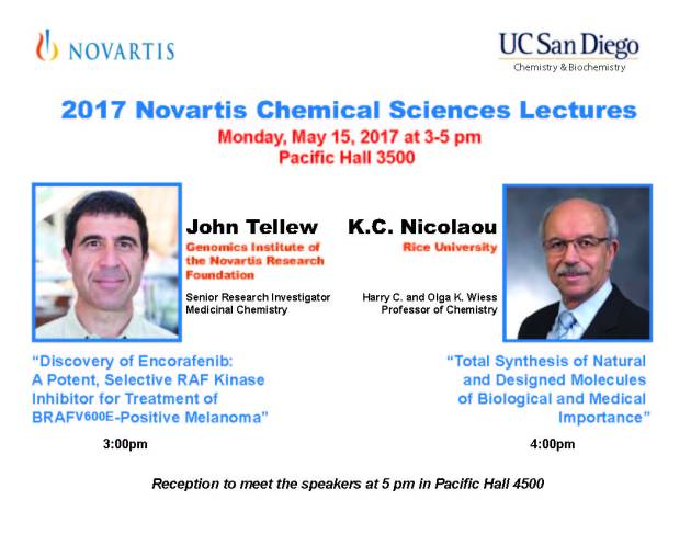 Novartis Chemical Science Lecture