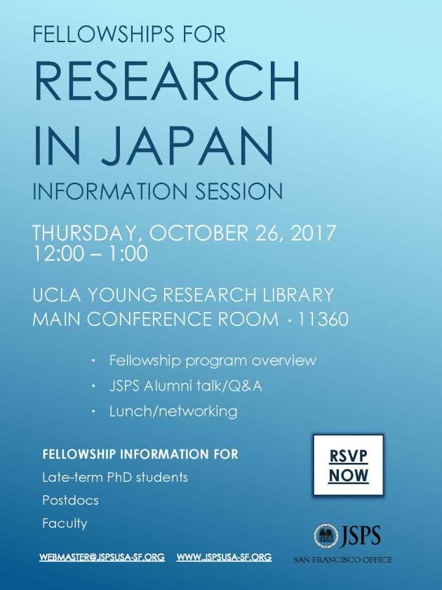 8. JSPS Fellowship UCLA