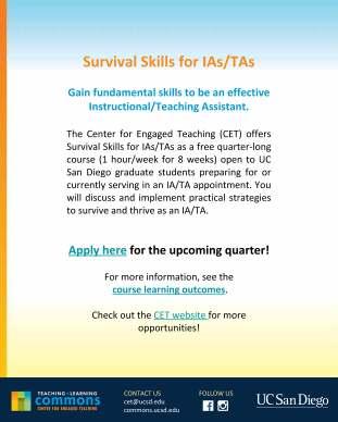 15b CET Survival Skills flyer