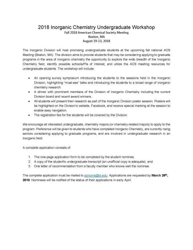 2018 Inorganic Chemistry Undergraduate Workshop Application_Page_1