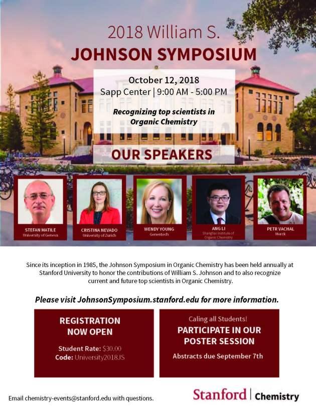 Non-SU Students 2018 Johnson Symposium Flyer