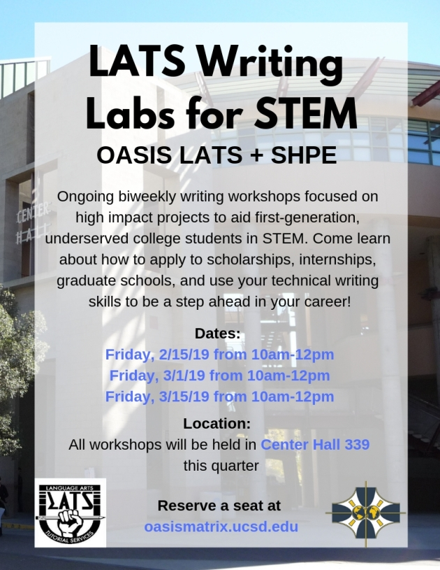 LATS Writing Labs for STEM